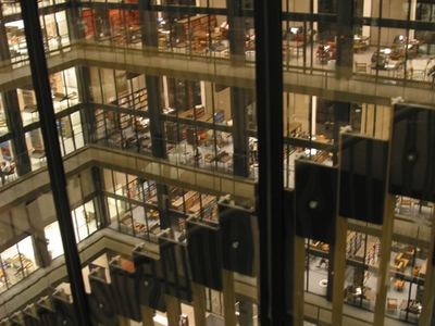 Bobst Library Interior