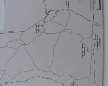 Oak Spring Map
