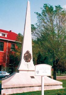 Obelisk Royal Military College Saint Jean