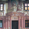 Oberammergau Pilatushaus Gartenfassade
