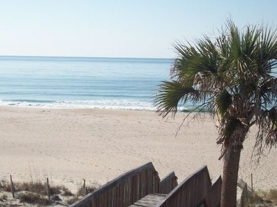 View Of The Atlantic Ocean From Ocean Isle Beach