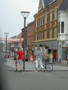 Odders Pedestrianised High Street Rosensgade