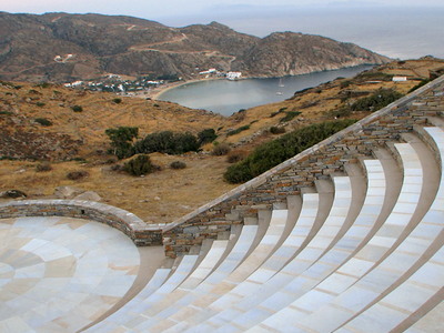 Odysseas  Elytis  Theater On  Ios