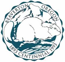 Official Seal Of Beaverton Oregon
