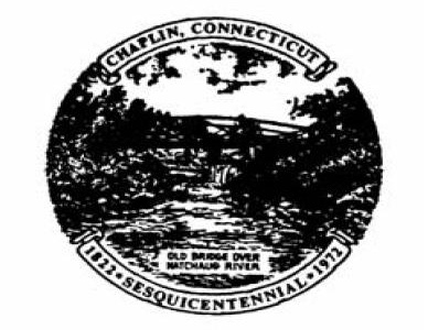 Official Seal Of Chaplin Connecticut