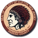 Official Seal Of Clifton New Jersey