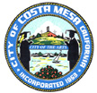 Official Seal Of Costa Mesa California