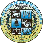 Official Seal Of City Of Santa Fe Springs