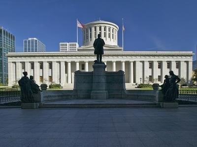 Ohio Statehouse At Columbus