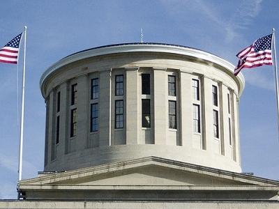 Ohio Statehouse Rotunda In Columbus