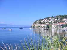Ohrid From The Lake