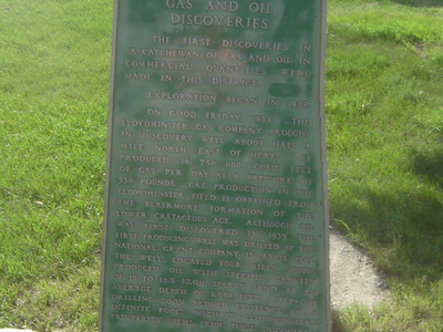 Oil And Gas Plaque