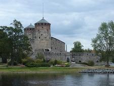 Olavinlinna Castle View In Savonlinna - Finland