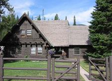 Old Administrative Area - Grand Tetons - Wyoming - USA