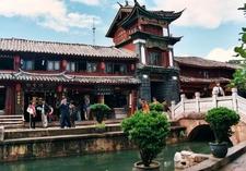 Old City Channels In Lijiang