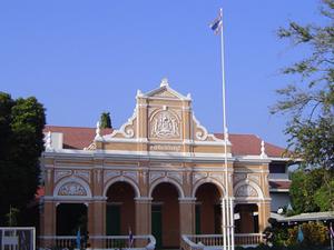 Antiguo Palacio de Justicia y el Ayuntamiento