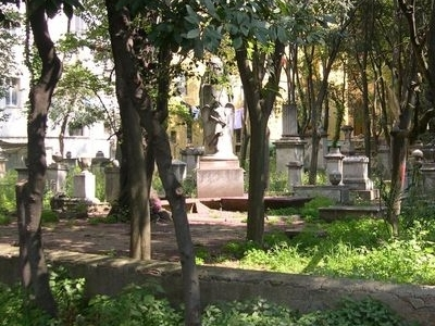 Old  English  Cemetery  Livorno Overview
