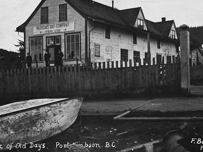 Old Hudson's Bay Co. Trading Post