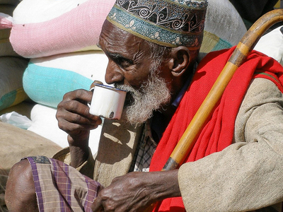 Old Man In Harar