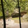 Old Man's Cave Area Landscape - Ohio