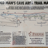 Old Man's Cave Area Trail Map - Ohio Hocking Hills
