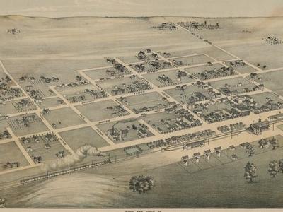 Old Map  Schulenburg 1881