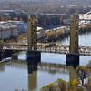 Old Sacramento Tower Bridge Overview