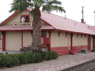 Old Santa Fe Rr Station