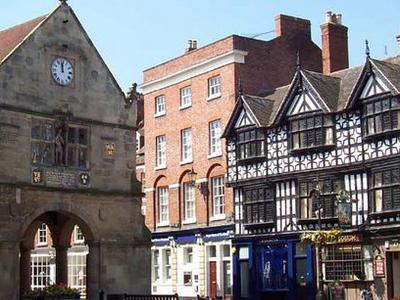 Old  Shrewsbruy  Market  Hall    England