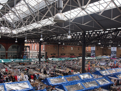 View Of Old Spitalfields Market