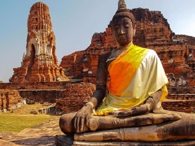 Old Temple Of Ayutthaya