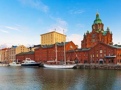 Old Town Uspenski Orthodox Cathedral - Uusimaa Finland