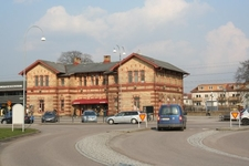 Old Train Station Building