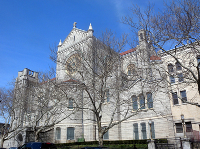 Basilica Of Our Lady Of Perpetual Help From 60th Street