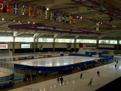Olympic  Oval  Inside  Calgary