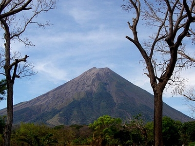 Ometepe - View Conception Volcano