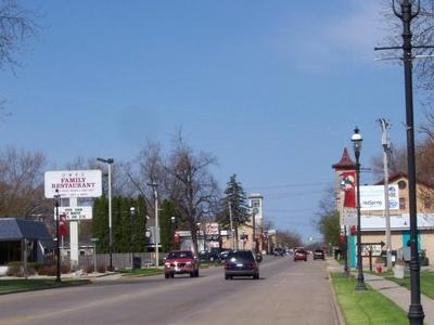 Omro Wisconsin Downtown