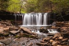 Oneida Falls On Kitchen Creek - Pennsylvania