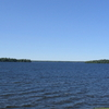 Oneida  Lake Seen From  Yacht  Club In  Cicero  New  York