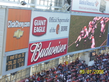 One Of The Scoreboards And JumboTrons In The Stadium