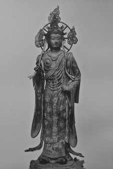 One Of The 28 Sanjusangen-do Temple Deities