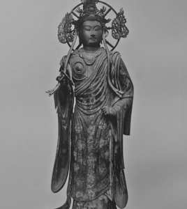One Of The 28 Sanjusangen-do Temple Deities