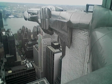 One Of The Eagles On The 61st Floor