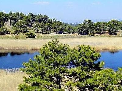 Crater Lakes Karagl Near Bozkurt
