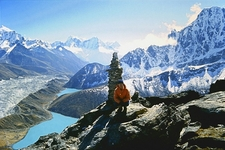 On Gokyo Peak - Sagarmatha Nepal