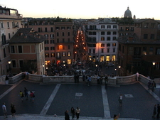 On Spanish Steps
