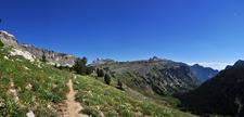 Open Canyon Trail - Grand Tetons - Wyoming - USA