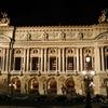 Front Of The Palais Garnier Illuminated At Night