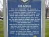 Orange  C T Historic Marker