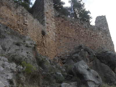 View Of The Medieval Castle